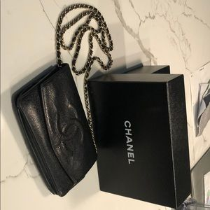 Vintage Chanel Chain on Bag